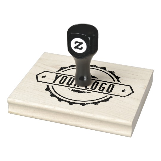 Your Business Logo Rubber Ink Stamp L 1