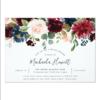 Radiant Bloom Bridal Shower Invitation 3