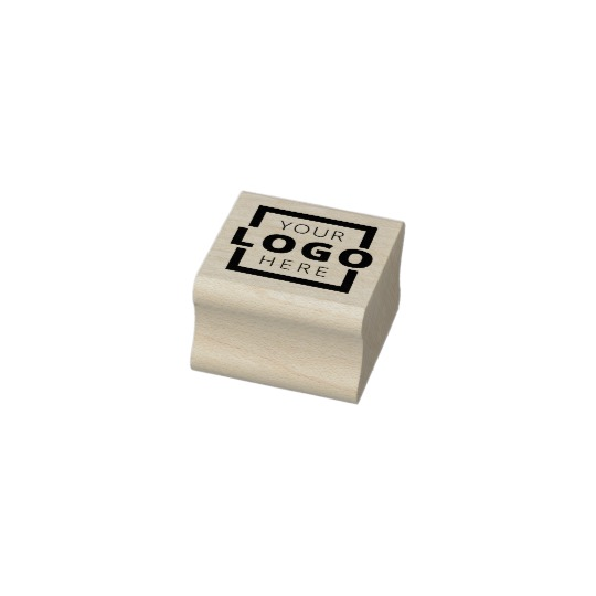 Custom Business Logo Rubber Stamp 1